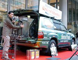 Японцы создали автомобильс био-дизелем