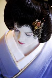 Первая в Японии гейша-иностранка