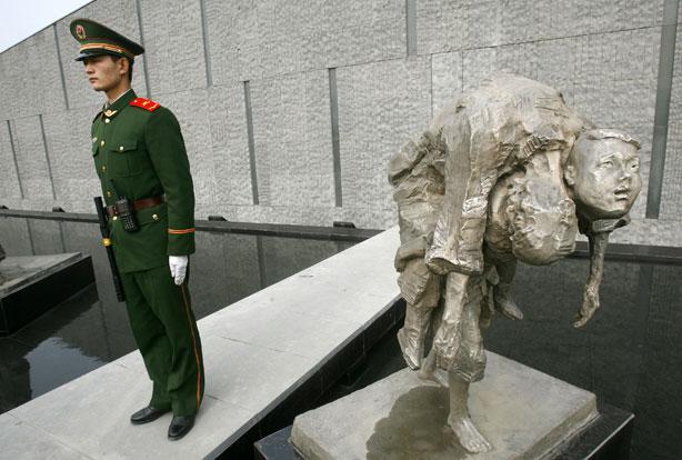 Наньцзинская резня всё ещё отравляет отношения между двумя державами