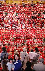 В музее Нагано проходит выставка тысячи хина-кукол