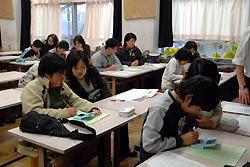 В японской средней школе на подготовительных уроках используют Nintendo DS