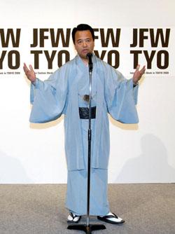 Захватывающий показ мод в Токио