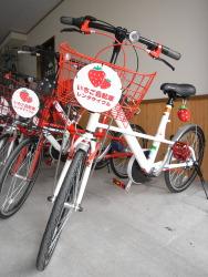 Железнодорожная станция в Японии начнёт сдавать в аренду «клубничные велосипеды»
