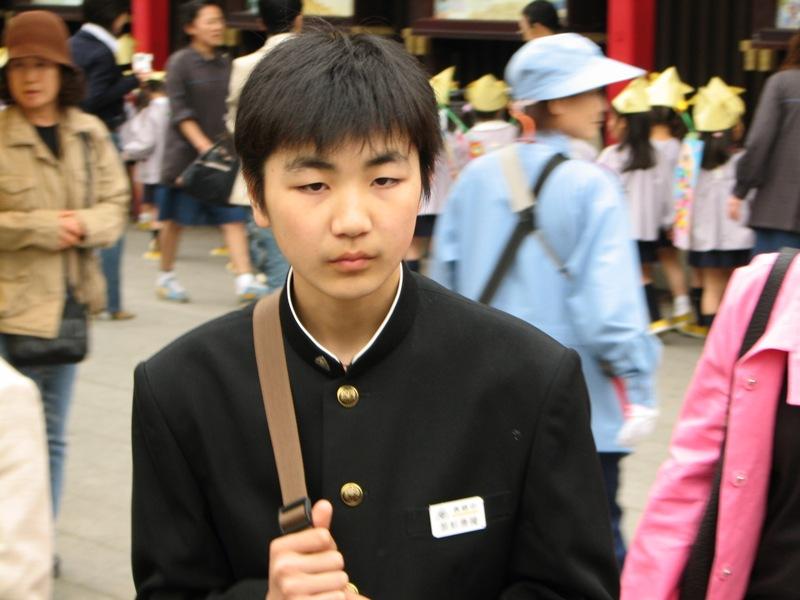 Фотографии японской молодёжи