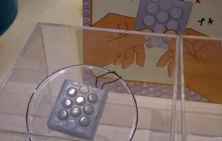 Японцы создали игрушку на основе популярного офисного развлечения