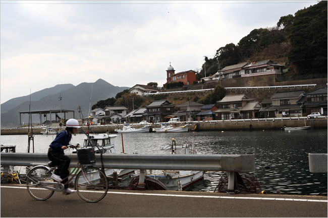 В отдалённых поселениях Японии католическая вера всё ещё держится, несмотря на истощение церквей