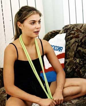 Алина Кабаева: русская звезда японского кино