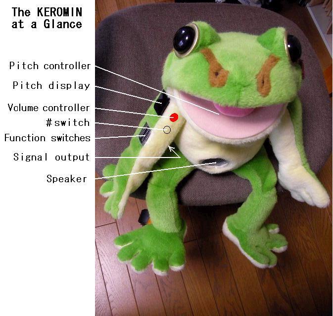 Керомин: наполовину плюшевая лягушка, наполовину музыкальный инструмент