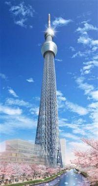 Токийское небесное древо: новая телебашня столицы Японии