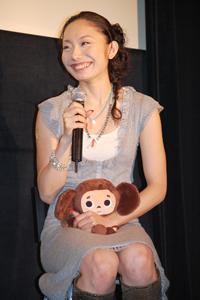 Японская фигуристка любит Чебурашку