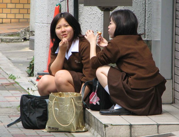 Японки не носят трусы