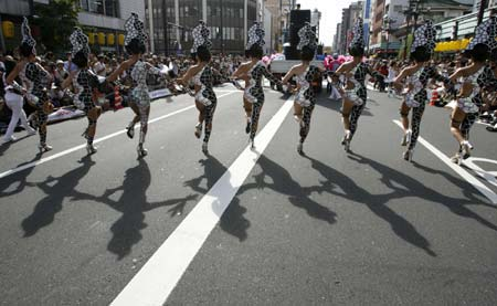 Карнавалы в токио
