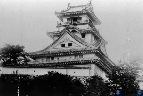 Фотография японского замка