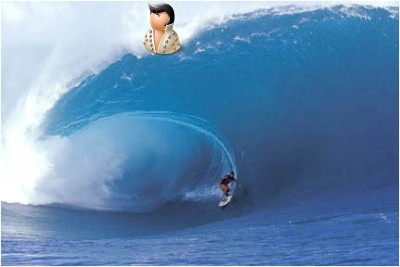 На сёрфе