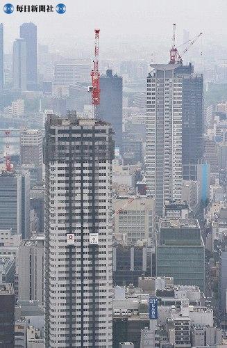 Высотные жилые дома в осаке 28 е июня