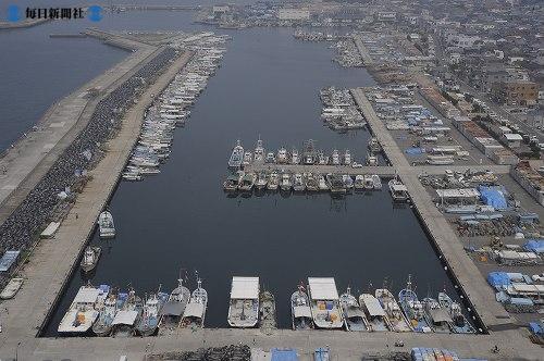 Рыбацкие лодки в порту Хаясидзаки (Hayashizaki)