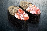 Печень и мясо краба