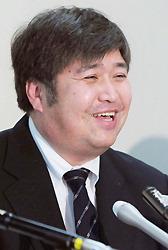 Хироси Сайто на пресс-конференции в среду