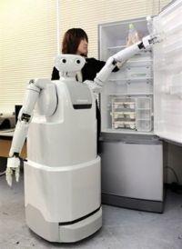 Прототип робота-помощника по хозяйству ApriAttenda