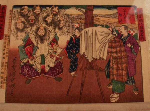 Выставка, посвящённая истории ёкаев
