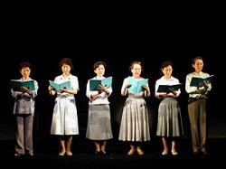 Актрисы, участвующие в театральных чтениях Natsu no Kumo wa Wasurenai