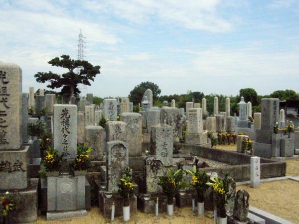 Японские городские кладбища