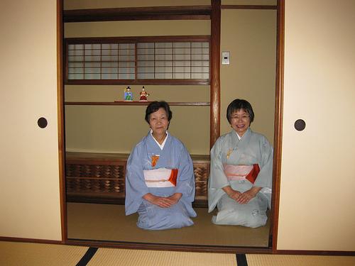 Японские старики сами заботятся друг о друге