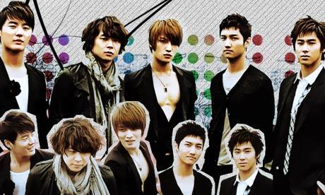 Корейская группа TVXQ, известная в Японии как Tohoshinki