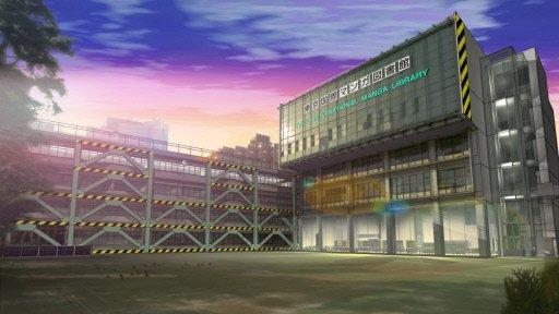Будущая Токийская международная библиотека манги при университете Мэйдзи