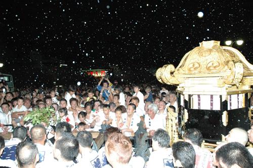 Фестиваль Гион (Gion) в Киото. 10.07.2009.