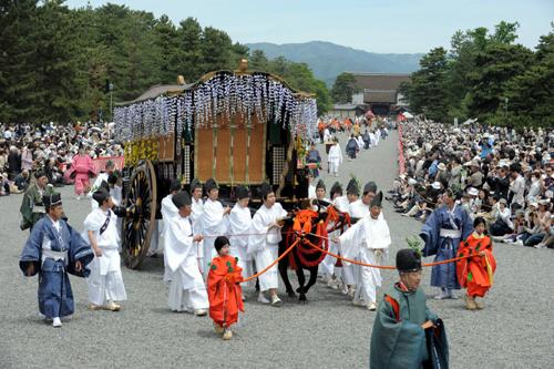 Фестиваль Аой (Aoi) в Киото. 15.09.2009.