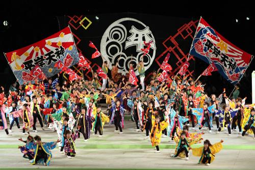 Фестиваль Ёсакой Соран (Yosakoi Soran) в Саппоро, Хоккайдо. 14.06.2009.