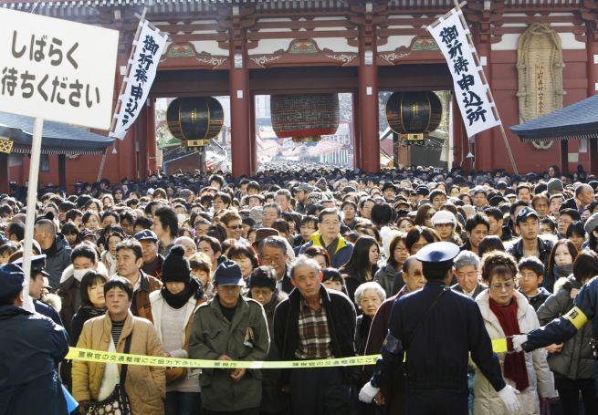 Посещение храма в Новом году