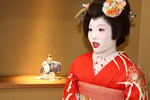 Гейша готова расцвести в Токио