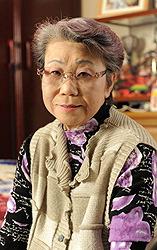 Пережившая атомную бомбардировку Кимиэ Киси в Миёси, префектура Хиросима, 10 февраля 2010 г.