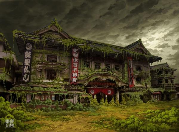 Постапокалиптические виды Токио
