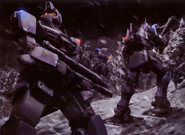 Человекообразные боевые роботы на работах Наотики Мориситы