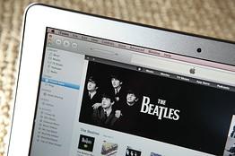 Каталог The Beatles на iTunes