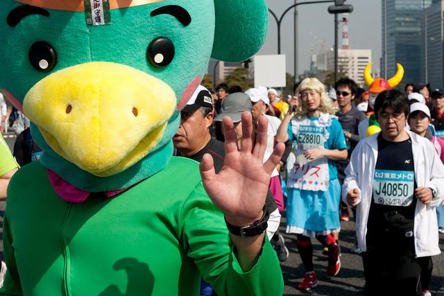 Фотографии участников Токийского марафона – 2011 [Автор фото: jimgris]