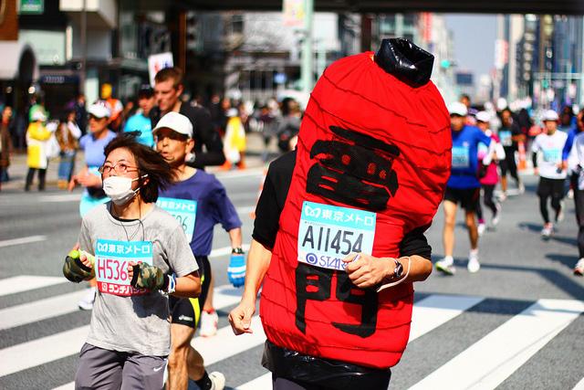 Фотографии участников Токийского марафона – 2011