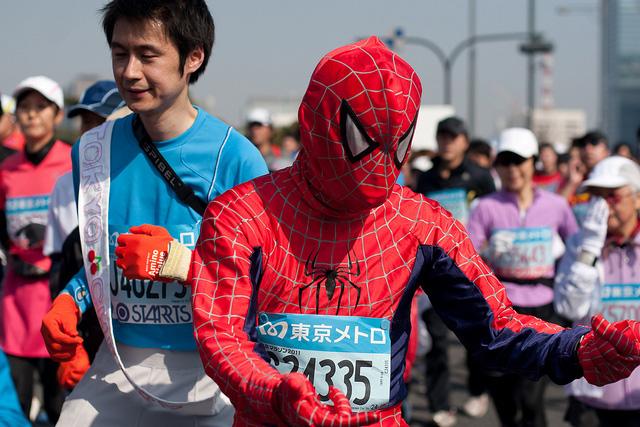 Фотографии участников Токийского<br /> марафона – 2011 [Автор фото: jimgris]