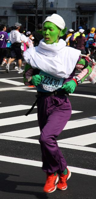 Фотографии участников Токийского марафона – 2011 [Автор фото: Long]