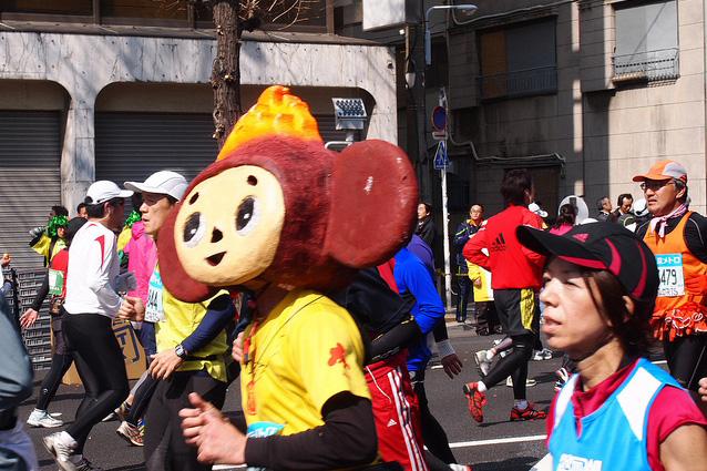 Фотографии участников Токийского марафона – 2011 [Автор фото: eri_chan]