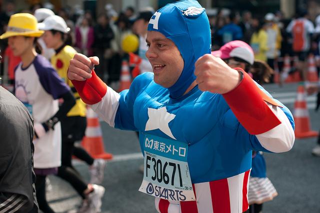 Фотографии участников Токийского марафона – 2011 [Автор фото: urasimaru]