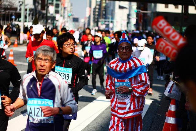 Фотографии участников Токийского марафона – 2011 [Автор фото: Jet Daisuke]