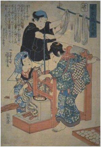 Кимоно цумуги