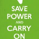 Сэкономь электроэнергию и продолжай в том же духе