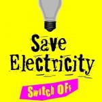 Экономь электричество. Выключи свет