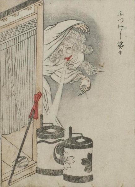 Японские монстры из книги Kaibutsu Ehon