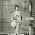 Гейша Момоко 桃子, 15 лет, квартал Синбаси